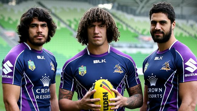 Melbourne Storm Kiwi players.