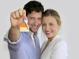 Young couple have just purchased a home and taken out a mortgage. Picture: iStock.