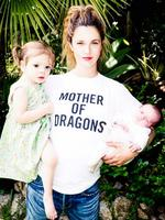 American actress Drew Barrymore with daughters Olive and Frankie. Picture: Twitter