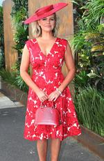 Melbourne Cup Day. Rebecca Maddern. Picture: Julie Kiriacoudis