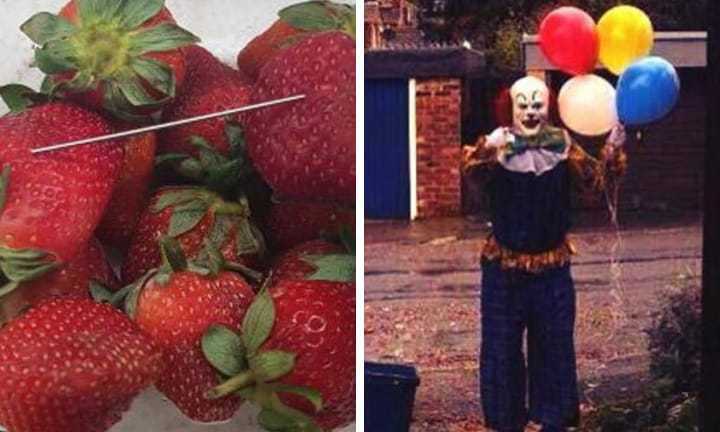 What do clowns and strawberries have in common?