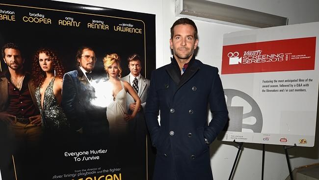Bradley Cooper is generating Oscar buzz for his role in American Hustle. Picture: Supplied