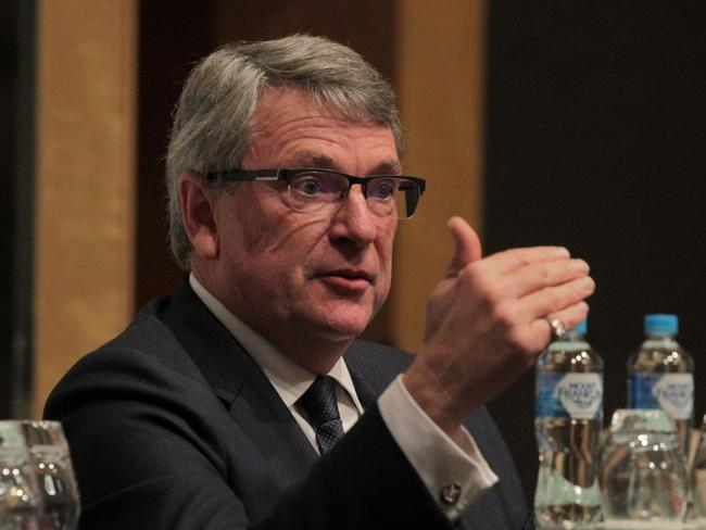 Lynton Crosby speaking at Australian British Chamber of Commerce.