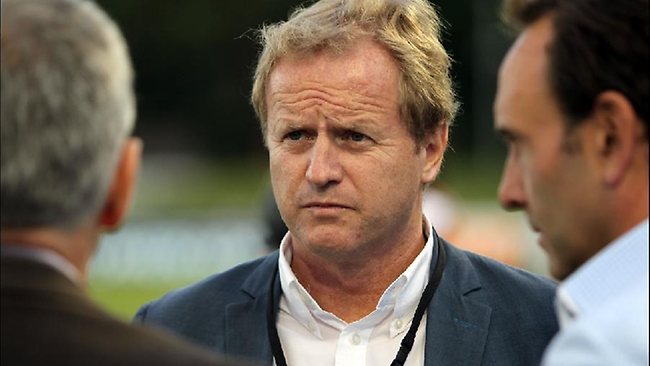 NRL boss Dave Smith at the City-Country match in Coffs Harbour. Picture: Tim Hunter