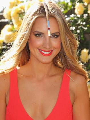 Laura Dundovic at this year's Melbourne Cup. Photo by Scott Barbour