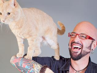 Jackson Galaxy for season 7 of My Cat From Hell. Picture: Lori Fusato