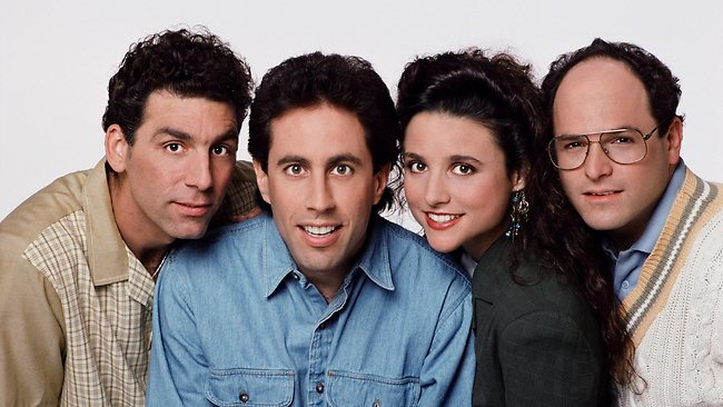 an analysis of seinfeld a television comedy show Romantic comedy—let the television show seinfeld and the romantic comedy my 50 first dates be used as examples—there would be a lot of changes the target.