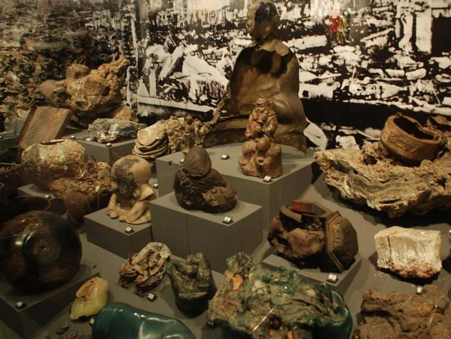 The museum displays what was left of the city. Picture: xiquinhosilva.