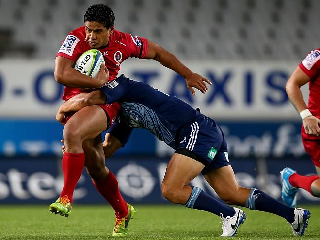 Reds centre Ben Tapuai is one of the few to perform consistently for Queensland this season.