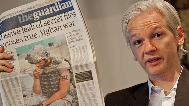 Humanitarian advocate ... Amal Alamuddin represented Julian Assange (pictured), Australian founder of the whistleblowing website WikiLeaks.