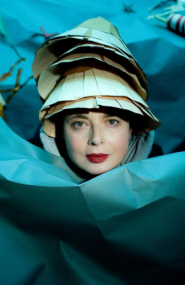 Supplied Editorial Adelaide Festival 2014: Isabella Rossellini in Green Porno.