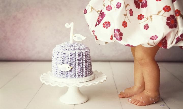 Smash cake! And other super-cute 1st birthday party ideas