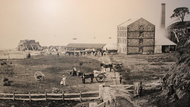 The Portarlington Mill, at around 1860.