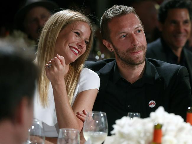 Gwyneth Paltrow and Chris Martin in 2014. Picture: Colin Young-Wolff /Invision/AP