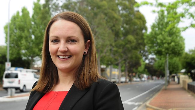 Sarah Williams who has recently won a Real Estate Institue of SA (REISA) award. Picture: Neale Winter