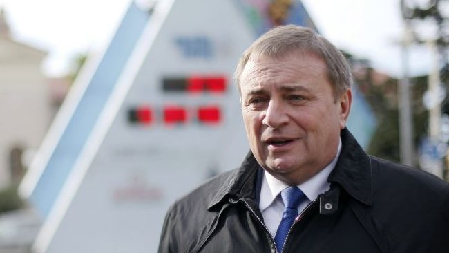 No gays in the village ... Anatoly Pakhomov, mayor of Sochi, says that no gays live in his city despite the fact that there are two gay bars.