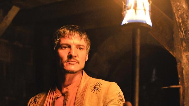 Oberyn Martell (played by Pedro Pascal) in a scene from TV series Game of Thrones, season four 4.