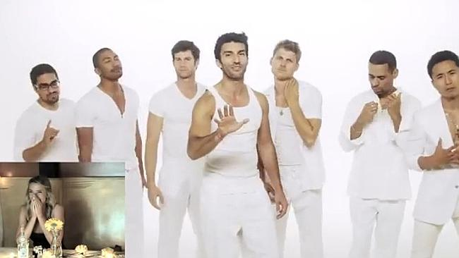 They're just like 'N Sync, except funnier. Pic: YouTube