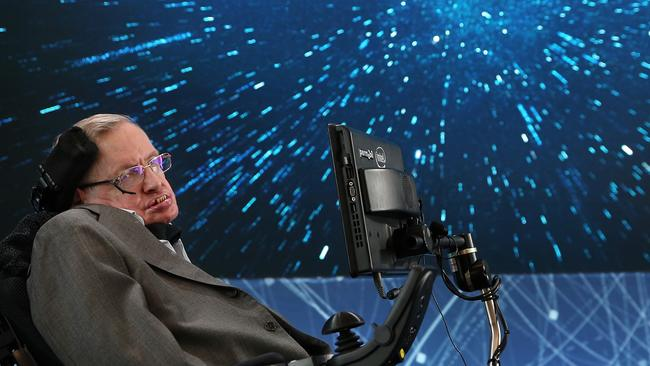 Renowned British Physicist Stephen Hawking died at his home in Cambridge, UK. Picture: Jemal Countess/Getty Images.
