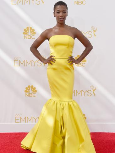 Orange Is The New Black actress Samira Wiley attends the 66th Annual Primetime Emmy Awards. Picture: Getty