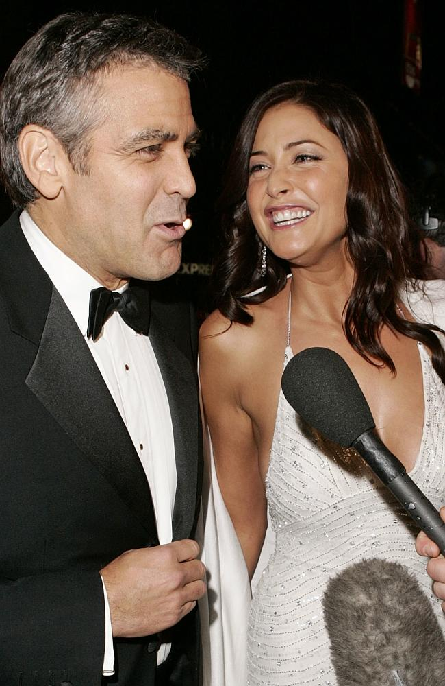Sadly for Krista Allen however, as Clooney also had another on-off-again girlfriend, British model and TV presenter, Lisa Snowden. These two were ALSO said to have split in 2006. Picture: AP