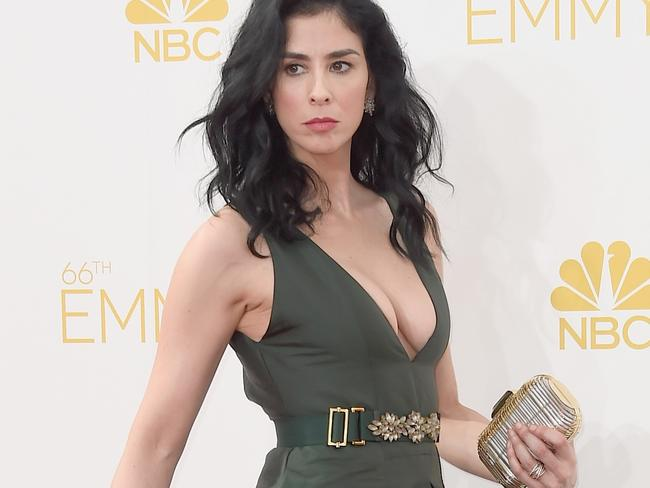 Sarah Silverman attends the 66th Annual Primetime Emmy Awards.