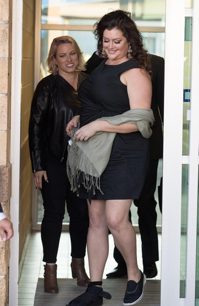 Tziporah Malkah was fined in court but dodged a conviction for assaulting her ex and three police officers. Picture: Mega