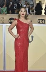 Actress Elizabeth Rodriguez arrives for the 24th Annual Screen Actors Guild Awards at the Shrine Exposition Center on January 21, 2018, in Los Angeles, California. / AFP PHOTO / FREDERIC J. BROWN