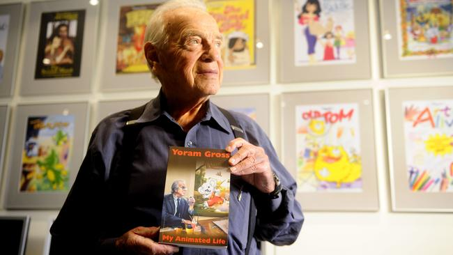 "Filmmaker Yoram Gross released his memoir, ""My Animated life""."