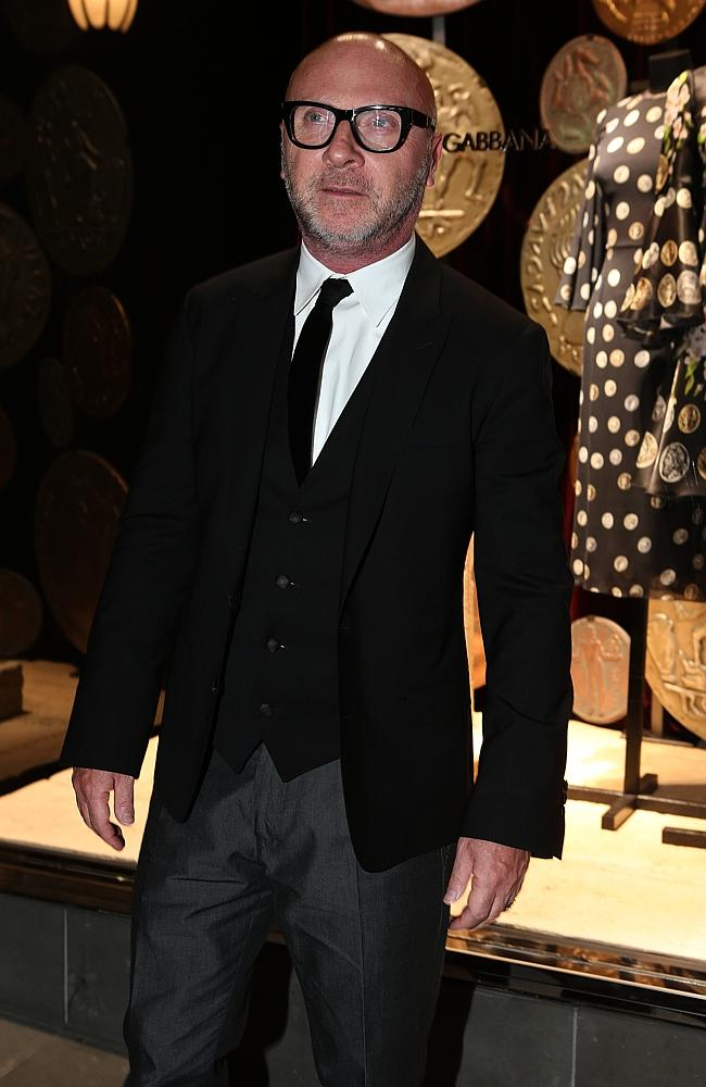 Dolce and Gabbana store opening. Domenico Dolce. Picture: Julie Kiriacoudis