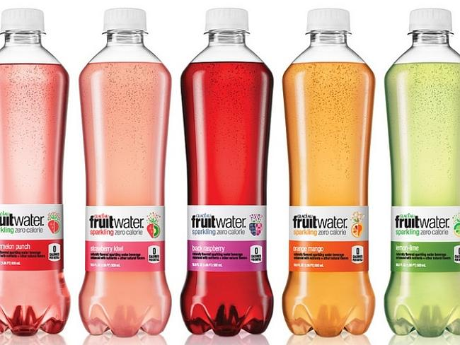 Coca-Cola 'Fruitwater', released under its Glaceau brand which also housed 'Vitaminwater'.