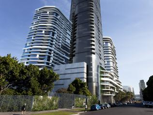Proposed four tower development by Salvo at Johnson Street South Melbourne in Fishermans Bend precinct