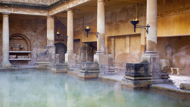 Bath - famous for its Roman Baths - is the only British city to be declared a World Heritage site.