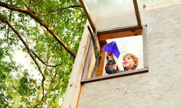 7 reasons to build your kids a cubby house