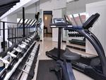 Fully-equipped gym.
