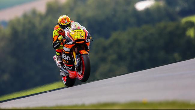 Espargaro in action at the German MotoGP. Picture: MotoGP.com