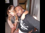 Falling in love with Kim Kardashian... The pictures that show their true love story. Picture: Instagram