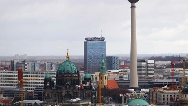 Skip the queues and check out the much better panoramic view of Berlin from the Panoramapunkt. Picture: BenBenBenBen