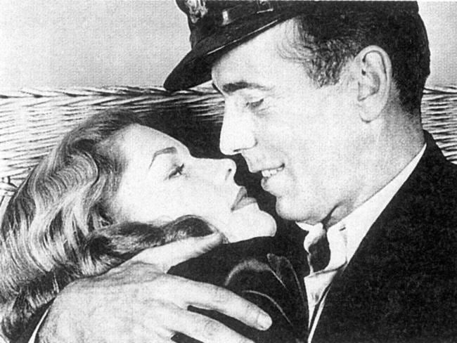"""Bacall got her big break in the 1944 thriller To Have and Have Not when she was just 19. It was here she met her future husband Humphrey Bogart and was the first of many """"Bogie-Bacall"""" films. Picture: Supplied"""