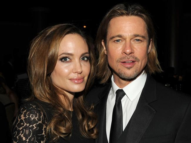 Married in France: Angelina Jolie and Brad Pitt have been engaged since 2012.