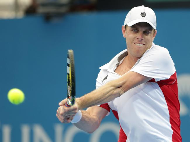 America's world No. 67, Sam Querrey.