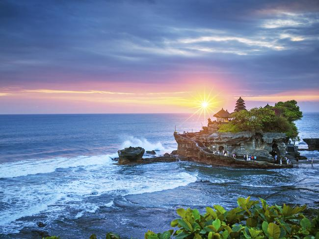 Tanah Lot is one of Bali's most picture-perfect spots, but a big new neighbour could be coming. Picture: iStock