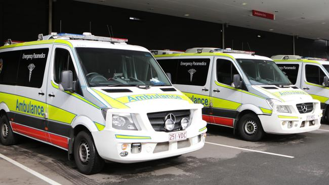 Queensland paramedics were attacked yesterday afternoon. Picture: Tim Marsden