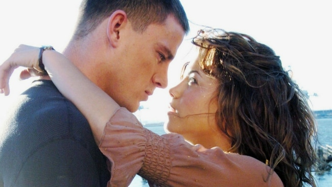 Channing and Jenna Dewan Tatum on the set of 'Step Up'. Photo: 'Step Up'