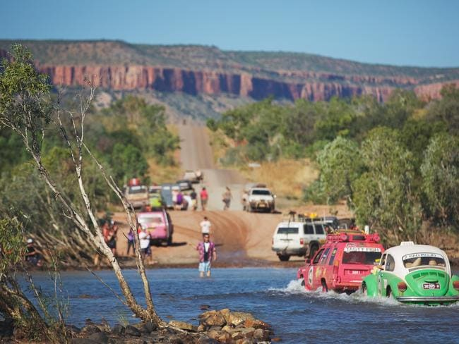 Pentecost River, Gibb River Road, the Kimberley. Picture: Jarrad Seng