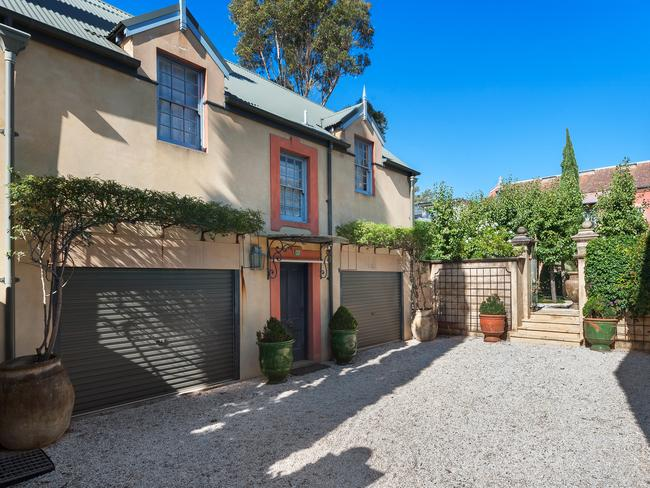 The property epitomises luxury living ina the inner west.