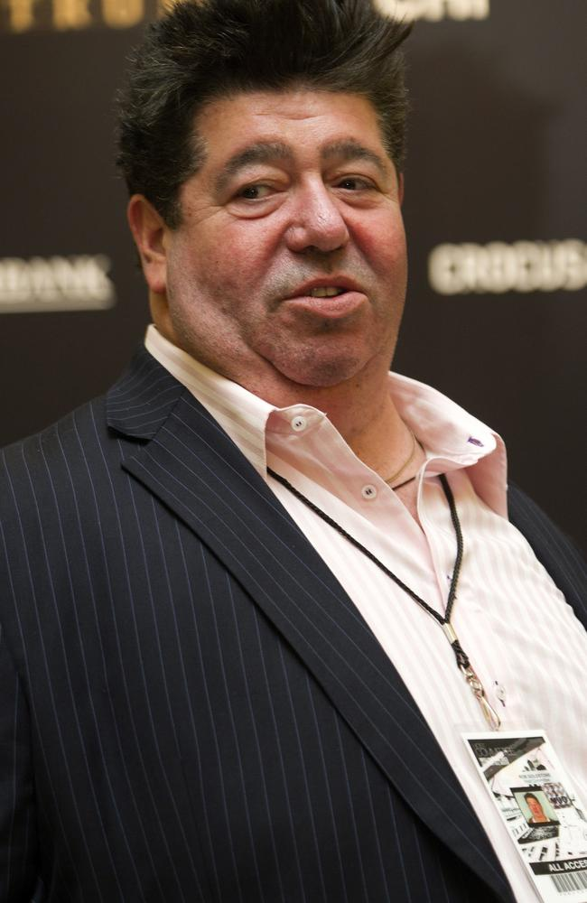 Set up the meeting: pop star publicist Rob Goldstone at the 2013 Miss Universe pageant in Moscow, held by the billionaire Agalarov family. Picture: Irina Bujor.