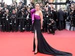 Andie MacDowell poses as she arrives on May 21, 2017 for the screening of the film 'The Meyerowitz Stories (New and Selected)' at the 70th edition of the Cannes Film Festival in Cannes, southern France. Picture: AFP