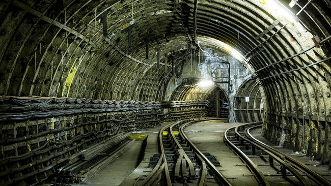 Abandoned in the early 2000s, the Mail Rail's tunnels still remain, quiet, beneath London's streets. Picture: The Postal Museum — Miles Willis