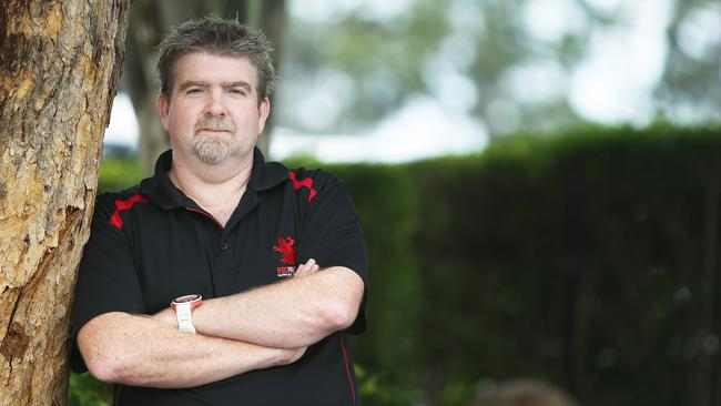 Red Frogs chief executive Andy Gourley shares safety tips for schoolies. Picture: Elise Searson